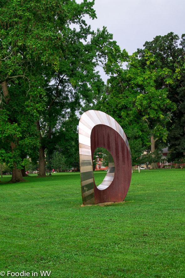 Sculpture Ritter Park Huntington, WV