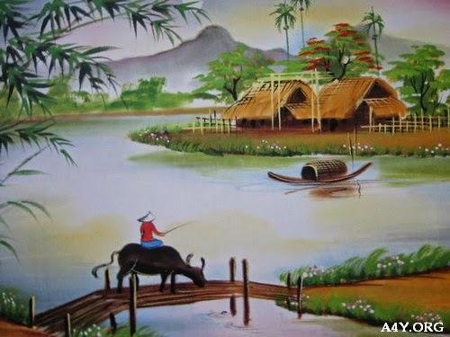 Hình ảnh đẹp về con đò và bến sông xưa