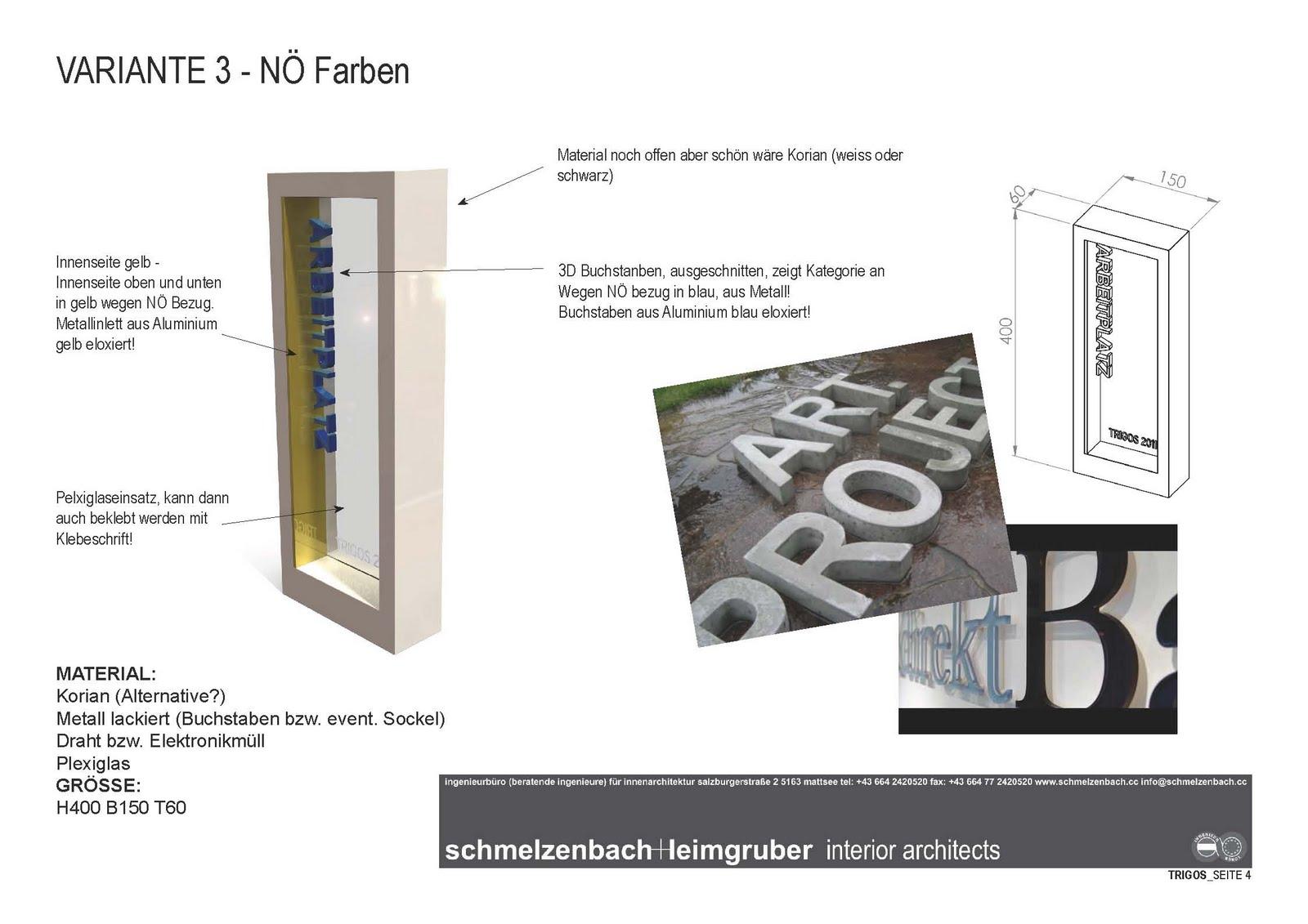 Schmelzenbach Leimgruber Interior Architects Trigos N 214