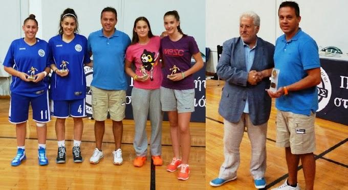 Ευκολες νίκες για Πρωτέα και Αθηναϊκό στα «Μπιζάνεια»-Τιμήθηκε ο Δικαιουλάκος