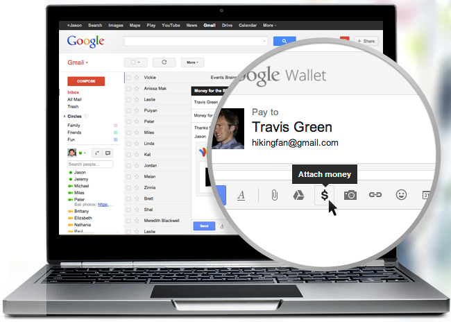 Send and Receive Money With Your Gmail Account