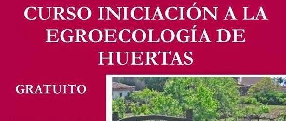 7/mayo. Curso Agroecología de huertas. Guijuelo