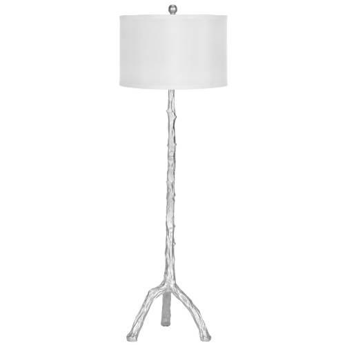 Layla Grayce Silver Branch Floor Lamp