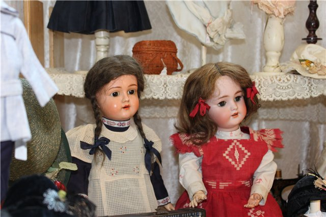 антикварные, куклы, выставка,
