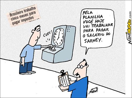brasileiro trabalha cinco meses para pagar impostos