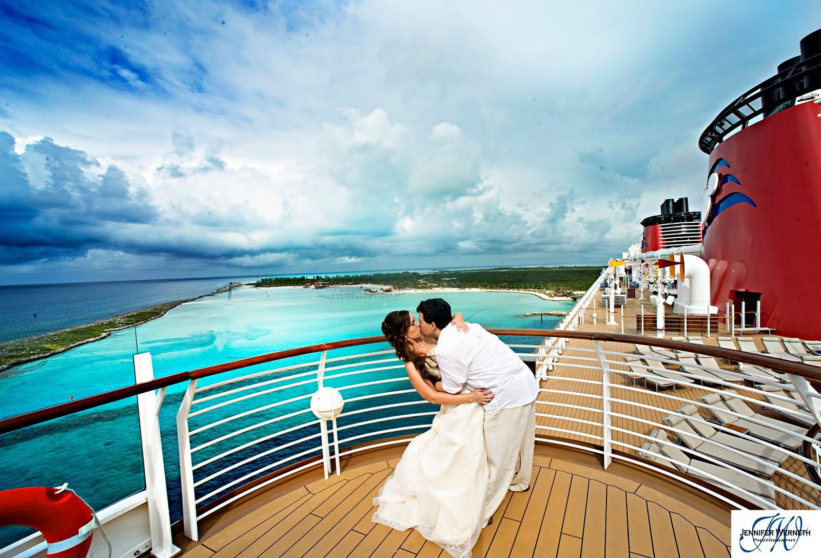 rachael georges disney cruise wedding on disney dream wedding photography jennifer werneth photography - Cruise Ship Photographer