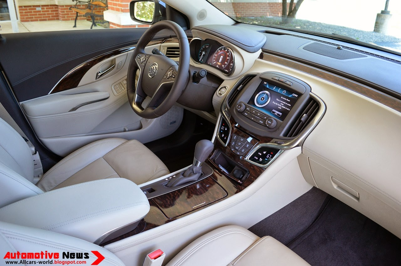 2014 Buick Lacrosse Review Ratings Specs Prices And Autos Post