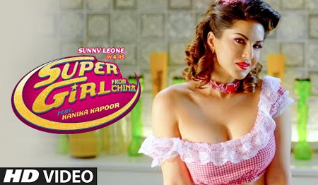 Super Girl by Sunny Leone