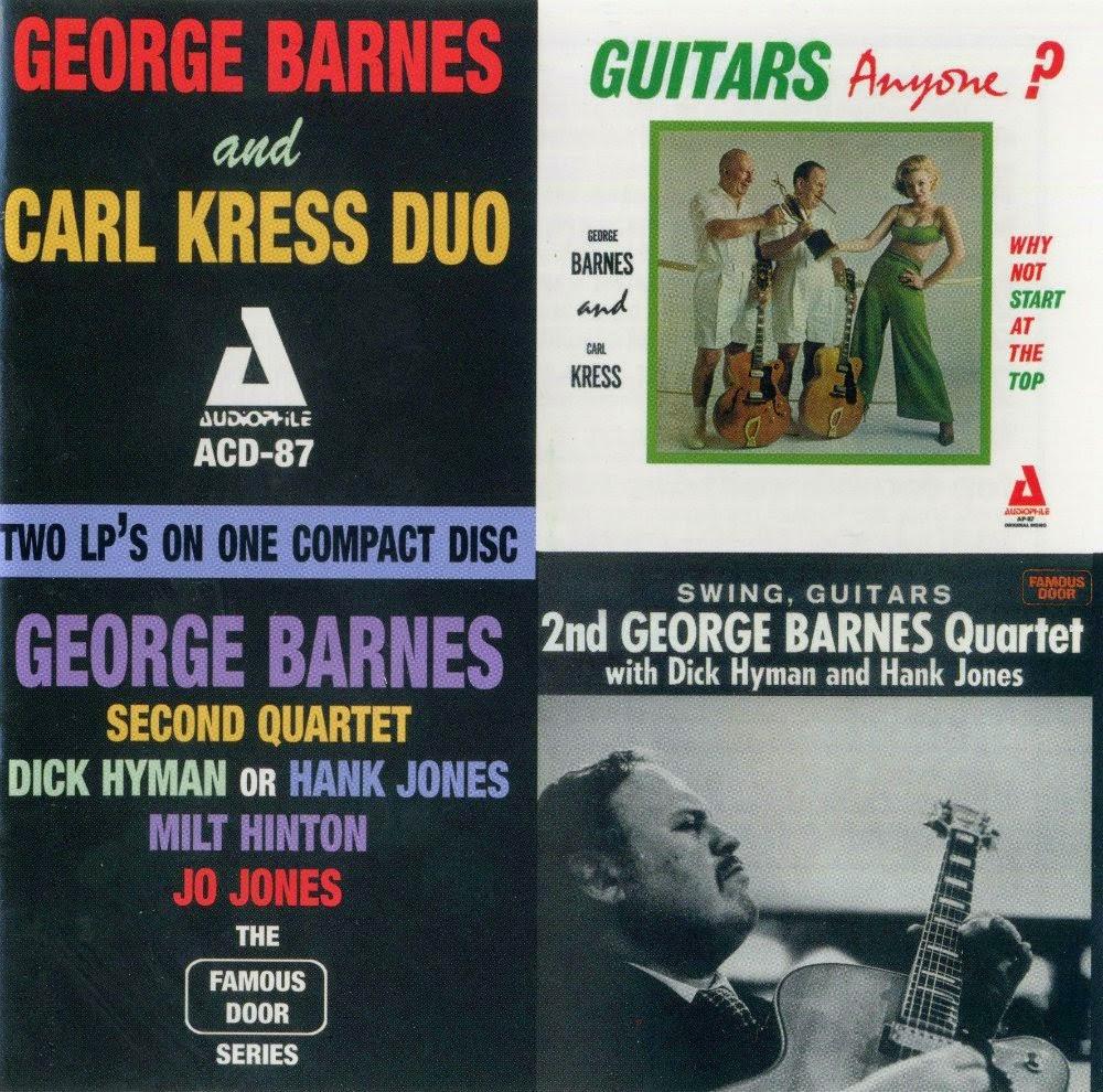 George Barnes Carl Kress Town Hall Concert