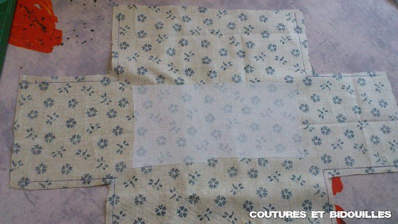 Coutures bidouilles tuto de la boite mouche for Boite en tissu