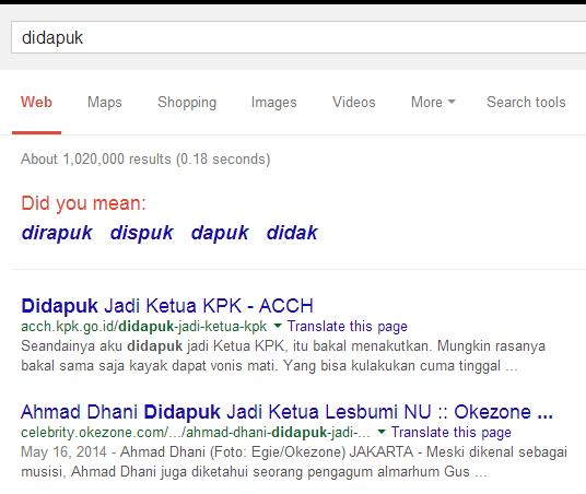 dapuk google