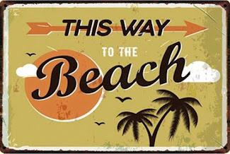 Creaties Suzan op FB- Een strandkaart