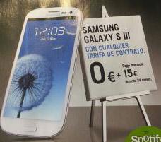 samsung galaxy s3 yoigo en febrero 2013 0 euros pago inicial y a plazos