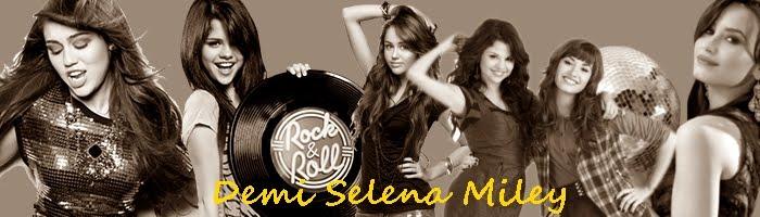 Demi LOVATO-Selena GOMEZ-Miley CYRUS