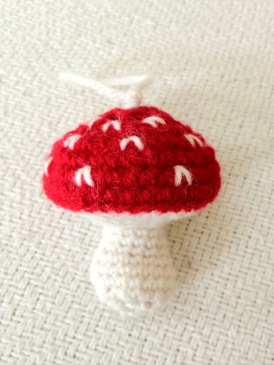 Christmas Mushroom