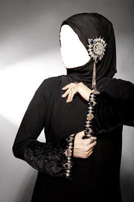 عبايات سوداء