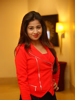 Manali Rathod glam pics in red top-cover-photo