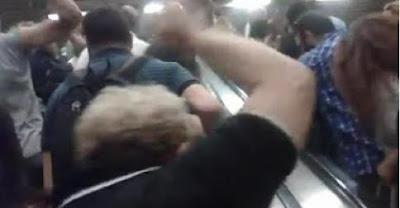 «Video-Μετρό Συντάγματος: «Αλήτες ρουφιάνοι δημοσιογράφοι» φώναζαν εκατοντάδες πολίτες!»