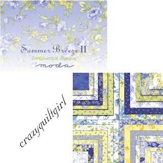 Moda SUMMER BREEZE II Quilt Fabric by Sentimental Studios