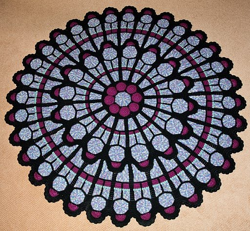 USD10,000 Cathedral Window Afghan: A few more beautiful ...