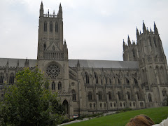 The Washington National Cathedral suffered earthquake damage a few days later.