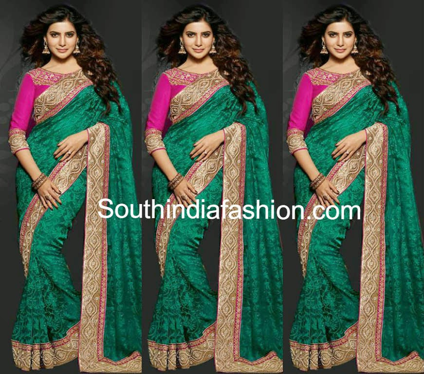 samantha in shilpkala saree