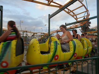 Caterpillar coaster Luna Park