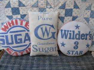 sugar sack pillows