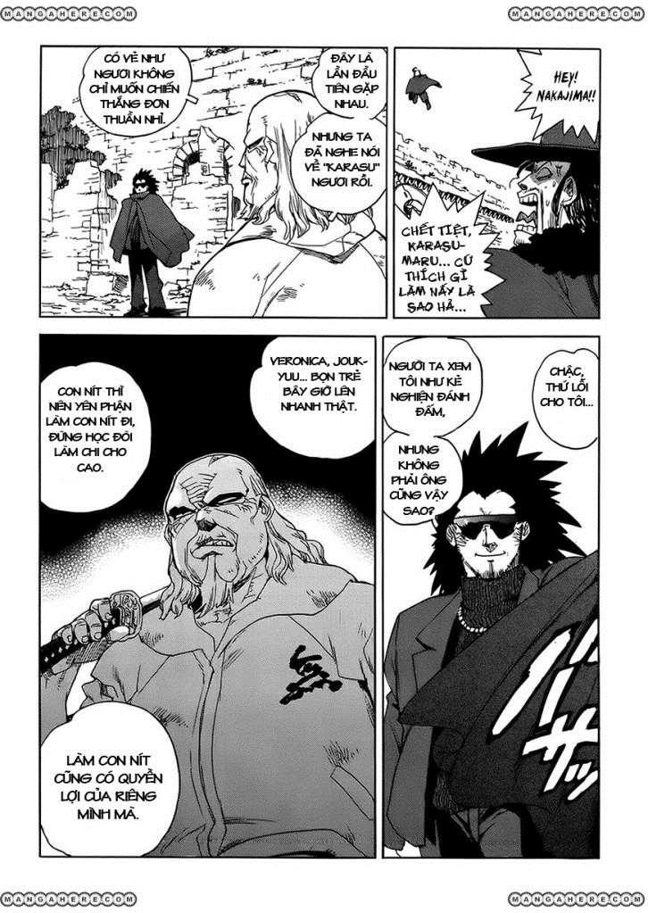 Aiki chap 91 - Trang 24