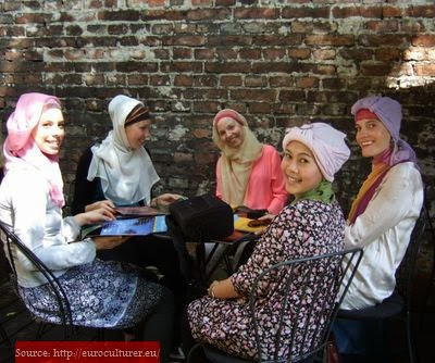 Style hijab café