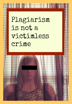 Plagiarism is wrong. Just don't do it.