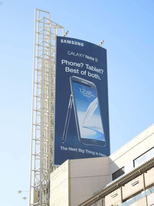 Samsung Galaxy Note II billboard