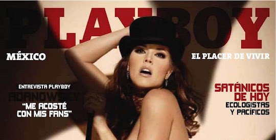Fotos de Alicia Machado Playboy México (Julio 2010)