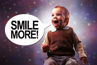 Давай скажем какая у тебя улыбка на английском (smile)!