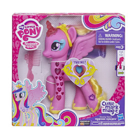 MLP Glowing Hearts Princess Cadance Brushable Figure