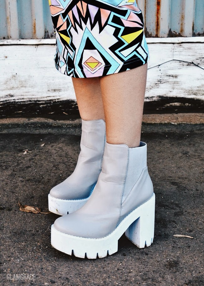 Chunky Cleated Sole Chelsea Boots - Missguided