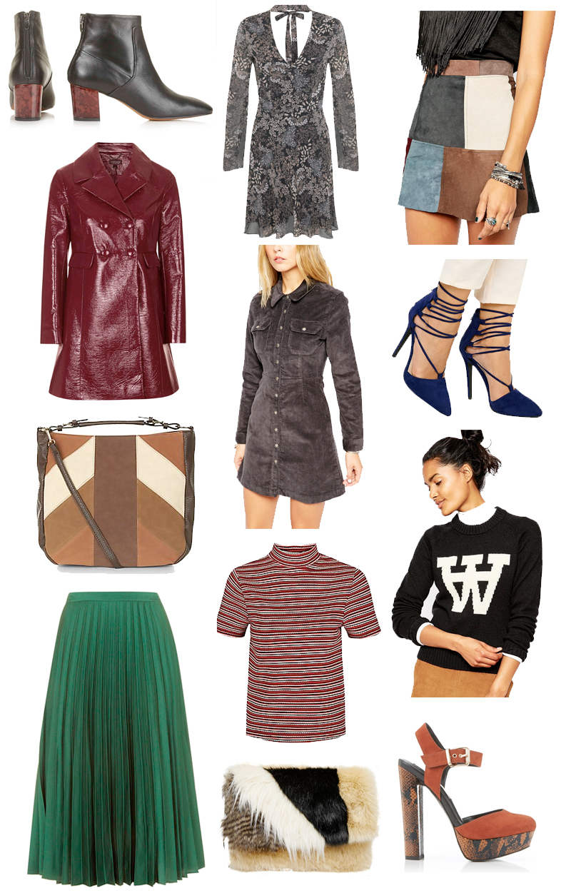 Autumn Winter 2015 70s Fashion Wishlist