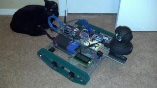 robô tanque com Arduino