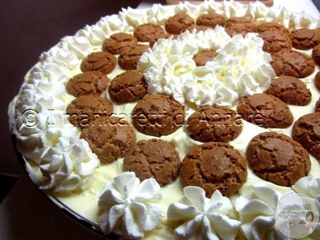 torta  pandoro con crema al mascarpone