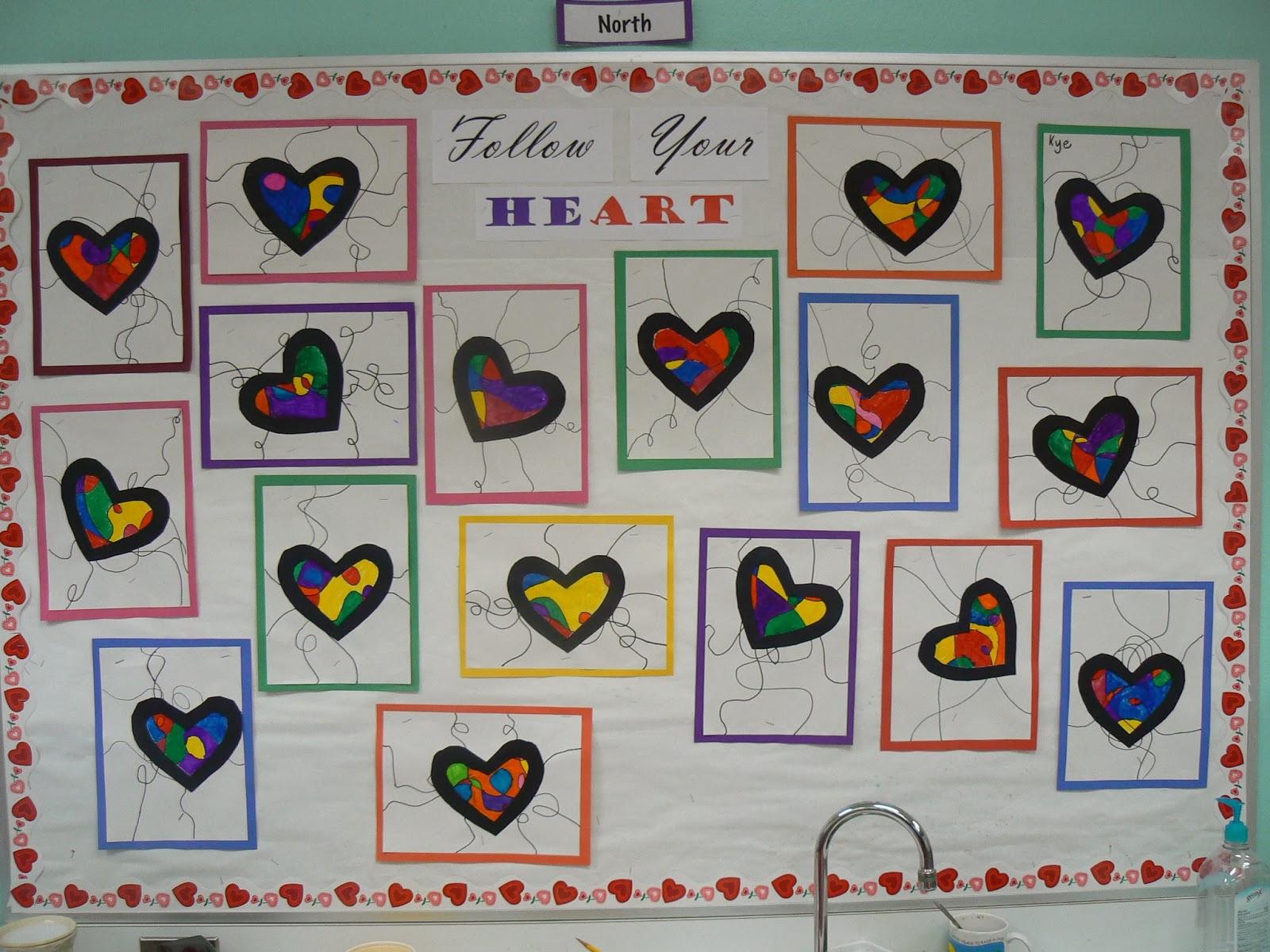 Valentineu0027s Day Bulletin Board