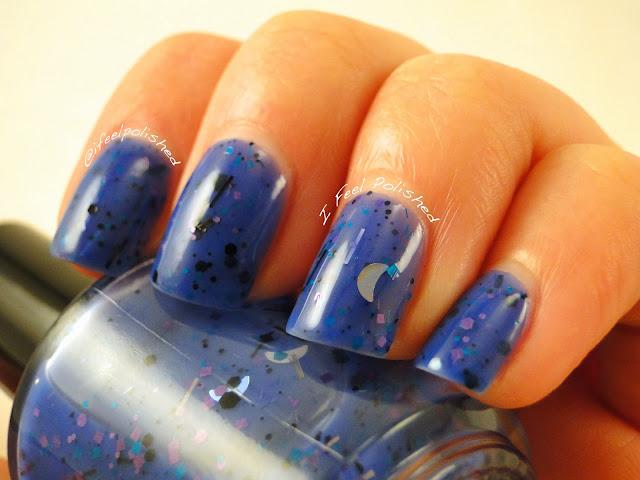 Land-Lia Polish Blue Wizard