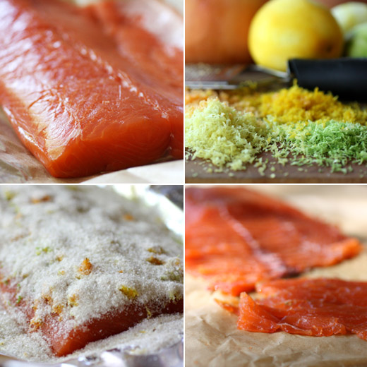 lisa is cooking: Citrus-Cured Salmon