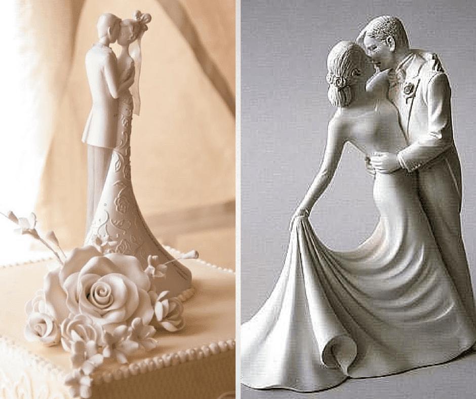 интересни фигурки за сватбена торта