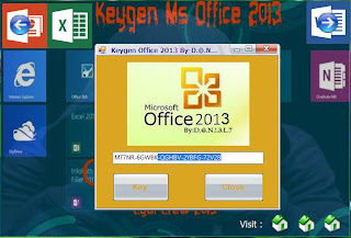 Keygen Microsoft Office 2013 Full