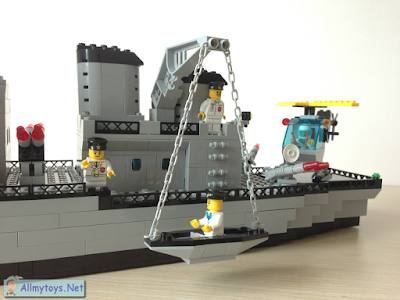 Enlighten Brick Toy Navy Ship 4