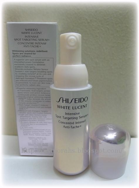 white lucent intensive spot targeting serum reviews