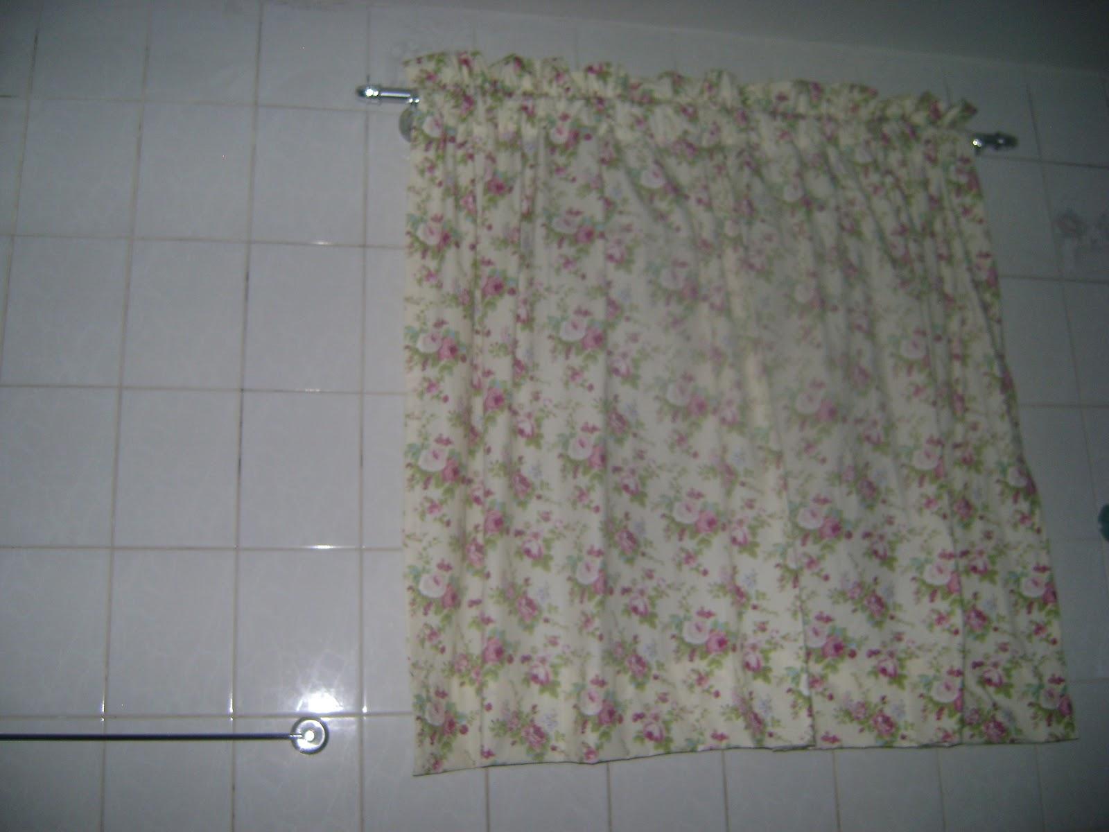 Doce Desejo: Cortina para Banheiro #6C4F5B 1600x1200 Banheiro Com Box De Cortina