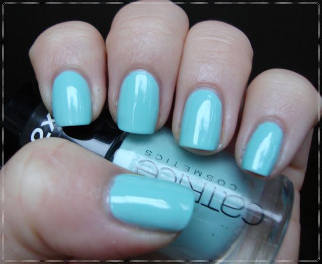 mint creme nail polish