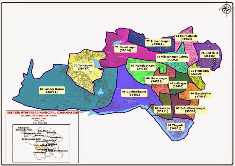 GHMC Circle 7 Map