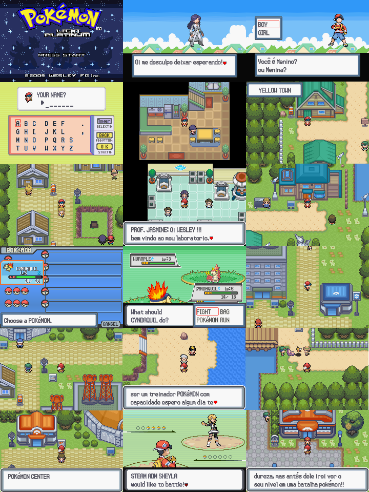 All freebies in pokemon light platinum